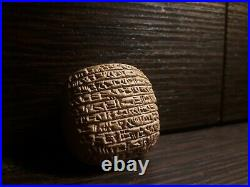 Rare And Wonderful Near Eastern Clay Tablet With Early Form Of Writing