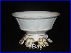 Rare Antique Early Haviland China Tea Set Gilt Old Paris Teapot Cream Sugar Bowl