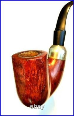 Rare Antique Early Peterson's Patent 12393 Huge Oom Paul House Pipe Estate Pipe