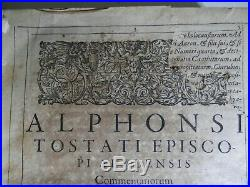 Rare Antique Esoteric Early 17th Century Original 1613 Folio Occult / Witchcraft