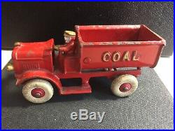 Rare Antique Hubley/Kenton Cast Iron Coal Truck (early 1900s)