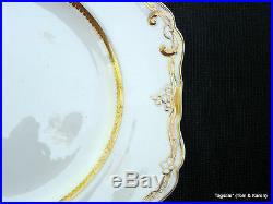 Rare Antique Spode Felspar Porcelain Early 19th Cent0.5 Dinner Plates 9 1/4