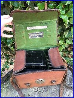 Rare Antique Thornton Pickard Ruby Horizontal Early 1900s Beautiful Camera Cased