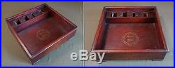 Rare Early 1900 Korean Folk Item Hussy Wooden Container Box for Needlework