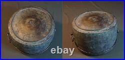 Rare Early 1900 Large Brass Rice Warmer Container BangJaYuGi Superb Sound
