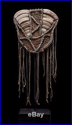 Rare Early 1900s Berlinhafen (Aitape) Breast Shield from German New Guinea