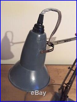 Rare Early (1935-1938) 3 Three Step Herbert Terry Anglepoise 1227 Lamp