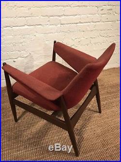 Rare Early 1960's G Plan Chair Kofod Larsen Chair Vintage Danish Retro
