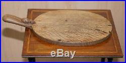 Rare Early 1970 Robert Mouseman Thompson Of Kilburn English Oak Cheese Board