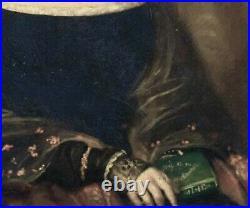 Rare Early 19th Century Portrait Of English Novelist Mary SHELLEY (1797-1851)