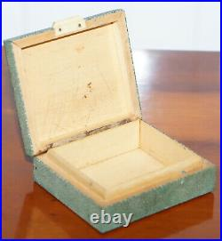 Rare Early 20th Century Shargreen Sharkskin Cigarette Box Highly Collectable