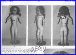 Rare Early 29 Antique Simon Halbig 949 German Bisque Doll C. 1880