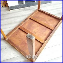 Rare Early Alvar Aalto Design Finmar Straight Leg Table