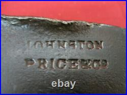 Rare Early Antique Mortising Post Hole Axe Stamped Johnson & Price Co