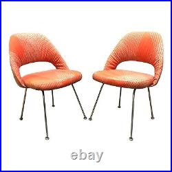 Rare Early Eero Saarinen for Knoll Side Chairs