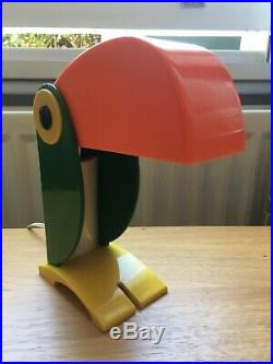 Rare Early Example of Vintage 1960s Old Timer Ferrari Toucan Lamp
