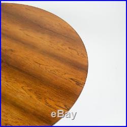Rare Early Fritz Hansen Arne Jacobsen Rosewood Coffee Table Denmark Model 3513