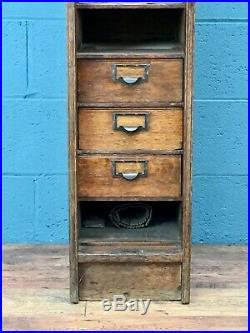 Rare Early Globe Company Globe Wernicke Filing Cabinet (100778)