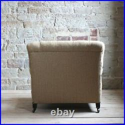 Rare Early Howard & Son's Open Arm Chair
