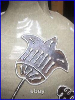 Rare! Early! Michel Bayne SC Edgefield Inspired Jug Slip Decorated Stoneware