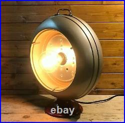 Rare Early Mid Century Converted Medical Health Lamp By Barber 1950's Atomic Age