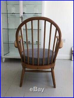 Rare Early Model- Ercol Armchair Windsor