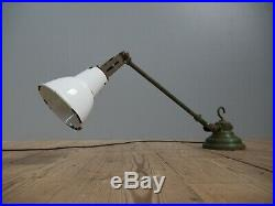 Rare Early Vintage Industrial Dugdills Machinist Work Lamp Light Antique