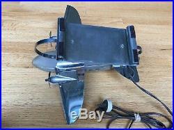 Rare Early White Glass Original Art Deco Airplane Desk Lamp Patent Pending