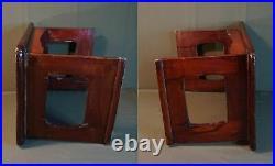 Rare Korean Early 1900 Low Rectangular Table GangWonBan Good Fortune