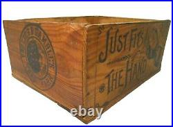 Rare Lenox Soap Early 20th C Antique Wood Box Advertising Crate Proctor & Gamble