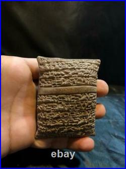 Rare Near Eastern Clay Tablet With Early Form Of Writing