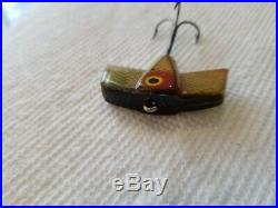Rare Old Vintage Antique Early Kautzky Bat Ike / Lazy Ike Fishing Lure EX