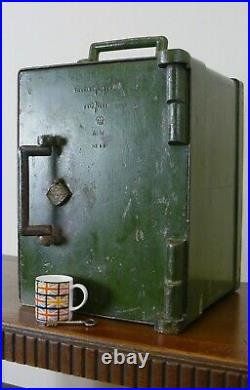 Rare Small Early 20th Century Air Ministry Military Safe