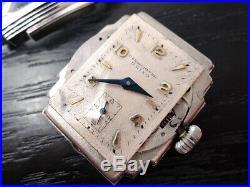 Rare Vintage Seiko Early 1940s chronometer watch Art Deco 26 x 40 mm Antique