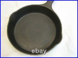 Rare Wagner Cast Iron No. 2 Skillet Early Logo Small Single Egg Fry Pan Sidney-O