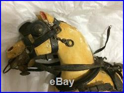 Rare and Early Georgian period Toy horses rocking horse antique toy collector