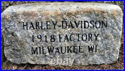 Rare early Harley Davidson Motorcycle ORIGINAL STONE jacket indian antique old