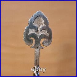 Rare & early Harold Sargison sterling silver Caddy spoon c1920's, hand wrought