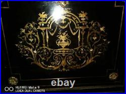 Rare early XIX century credenza with Gilt bronze