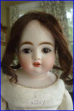 Rare turned head Kestner early letter series antique doll