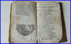 Robin Hood extremely rare & early edition with ballads, 1740 or earlier