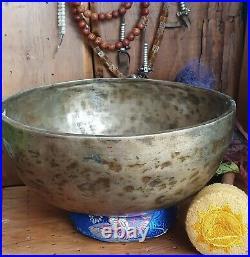 Singing Bowl Tibetan Antique Jambati early 20th century Rare Quality E