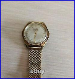 Slava Transistor USSR Rare vintage soviet electromechanical Wristwatch Early1960