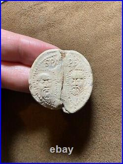 VERY RARE Early Lead Papal Bulla/Seal of Pope CELESTINE III, c. 1191-1198