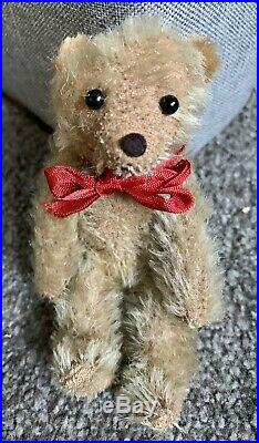 Very RARE Early Small Antique Farnell Soldier Miniature Mohair Bear 5.5 Buy Now