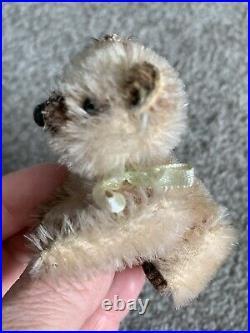 Very RaRE NICE Early Antique Miniature Schuco Mohair Jtd KOALA Bear Pristine NR