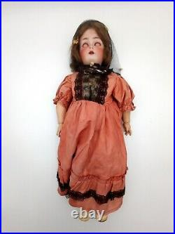Very Rare 1886 to Early 1900's Antique K & R Simon Halbig German Bisque Doll