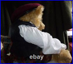 Very Rare Antique Early Alpha Farnell Teddy Bear 24 Inches High Circa 1925