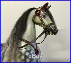 Very Rare Early Antique Unattributed 38 Rocking Horse Possibly Ayres