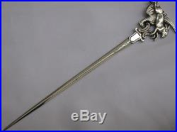 Very Rare Sterling Silver Early Victorian 1846 Game Skewer Francis Higgins II
